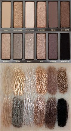 A nice Eye shadow set like this.... or with whites, blacks and silvers  Naked 2 Palette by Urban Decay
