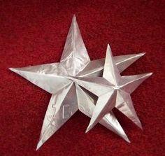 Baking Pan Tin Stars   AllFreeHolidayCrafts.com