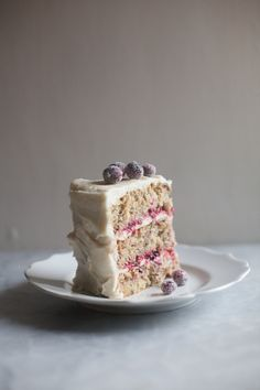 Triple-Layer Parsnip Cranberry Cake