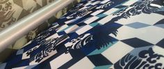 Beautiful blue pattern from our summer collection.