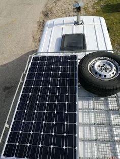 IMG_20170216_115742 Panneau Solaire Camping Car, Solar Panels, Vans, Outdoor Decor, Tour, Europe, Solar Power, Van, Van Camping