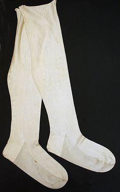 Stockings  Date: ca. 1800 Culture: British Medium: silk