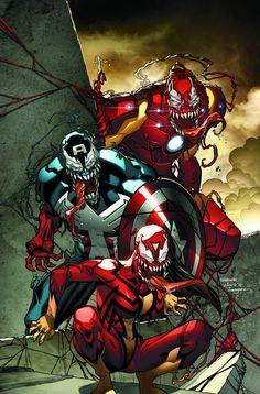 Avengers Vemom Variant