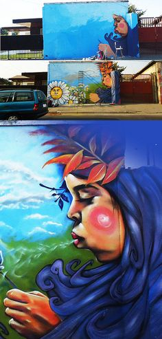 RAAUL CANCINO Street Art Chile