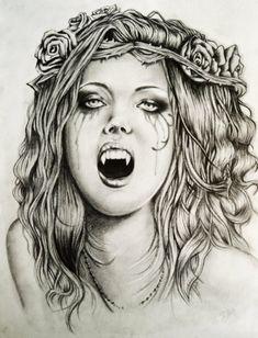 vampire drawings - Google Search
