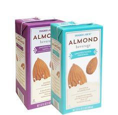 Unsweetened vanilla Almond Beverages | Trader Joe's $1.79