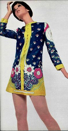 Sixties mini dress--been there, done that!