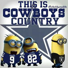 Dallas Cowboys Fans.   Love these lil guys.