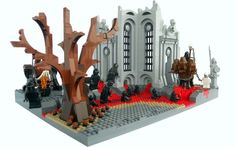 Dante's 9 Circles Of Hell Portrayed Using LEGOs