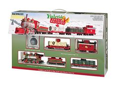 YULETIDE SPECIAL DELIVERY Ready to Run Electric Holiday Train Set – On30 Scale. Making an express run direct from the North Pole, the Yuletide Special Delivery is racing to transport its important cargo in time for the holiday festivities. With its load of Yule logs and fresh milk from the... more details available at https://perfect-gifts.bestselleroutlets.com/gifts-for-teens/toys-games-gifts-for-teens/product-review-for-bachmann-industries-yuletide-special-delivery-re