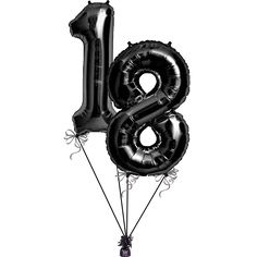 Black number balloons http://www.partysavvy.co.uk/adult-occasions/milestone-birthdays/milestone-birthday-balloons/number-1-foil-balloon-black http://www.partysavvy.co.uk/adult-occasions/milestone-birthdays/milestone-birthday-balloons/number-8-foil-balloon-black