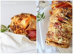 Pizza-Zupfbrot