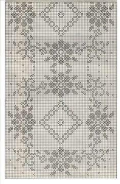 Crochet Table Runner Pattern, Crochet Doily Diagram, Filet Crochet Charts, Crochet Lace Edging, Crochet Tablecloth, Crochet Cross, Crochet Stitches, Crochet Patterns, Funny Cross Stitch Patterns