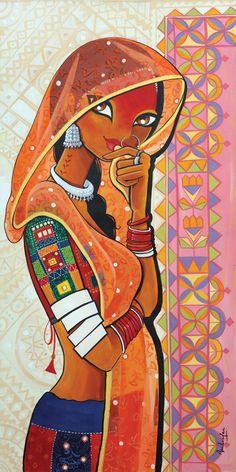 There is, no doubt, a lot of hype surrounding Easy Madhubani Art and Paintings for Beginners. And we know you are aware of that. But if you wish to delve Rajasthani Painting, Rajasthani Art, Indian Art Paintings, Modern Art Paintings, Oil Paintings, Abstract Paintings, Madhubani Art, Madhubani Painting, Arte Yin Yang