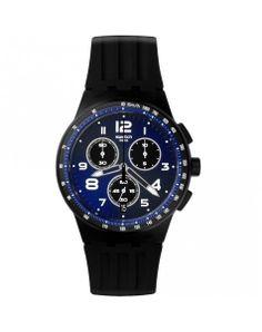 Ligero, fácil de llevar y perfecto para actividades deportivas. Así es el Reloj Swatch Chrono NiteSpeed!