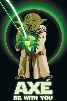 Imagen de Capoeira: Yoda que el Axe este Contigo via http://pasioncapoeira.com/