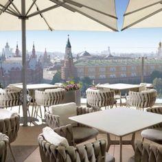 Tosca armchair design Monica Armani for Tribù _ Ritz Carlton Moscow _ piazza Rossa