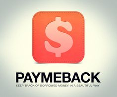 PayMeBack for iPhone by Rick Waalders, via Behance