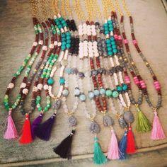 Tassel Necklaces By Gresham Hodges