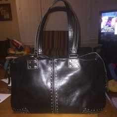 Black Michael Kors Large black all leather Michael Kors Bags