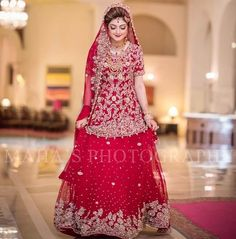 70 Ideas Bridal Dresses Pakistani Maroon For 2019 Pakistani Bridal Dresses Online, Pakistani Bridal Lehenga, Beautiful Pakistani Dresses, Pakistani Wedding Outfits, Indian Bridal Outfits, Indian Gowns, White Bridal Shower Dress, Bridal Lehenga Collection, Lehnga Dress