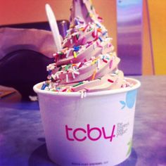 Simply swirled to perfection! #TCBY