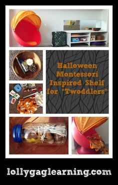 Montessori Toddler and Preschool Fall Themes Autumn Activities, Motor Activities, Play Tunnel, Treasure Basket, Fall Snacks, Montessori Toddler, Autumn Theme, Sensory Play, Fall Crafts