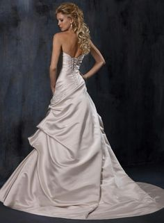Maggie sottero back view