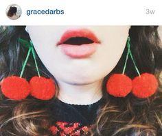 DIY inspiration for Pom Pom earrings!!