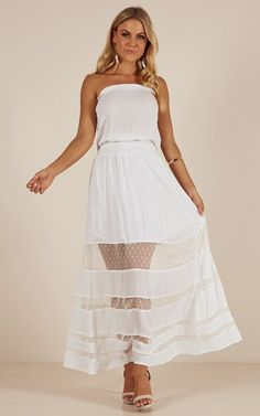 44ea9c26aad My Day Dream maxi dress in white