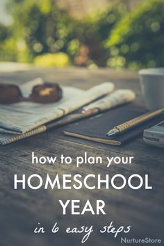 How to plan your homeschool year the easy way :: an easy homeschool schedule :: home education planning