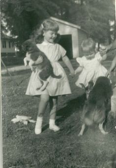 Jane Gray's love of dogs began early.