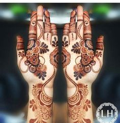 Most Beautiful Henna Designs 2019 Khafif Mehndi Design, Full Mehndi Designs, Latest Arabic Mehndi Designs, Mehndi Design Pictures, Mehndi Designs For Girls, Wedding Mehndi Designs, Beautiful Henna Designs, Heena Design, Mehndi Images