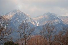 菰野町大羽根園地区 早朝散歩風景  平成25年2月23日撮影