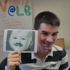 The glorious moustache days of Dan