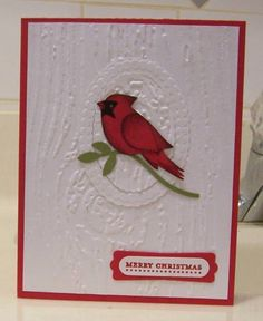 IC251 Stampin up Bird punch #9 by jandjccc - Cards and Paper Crafts at Splitcoaststampers