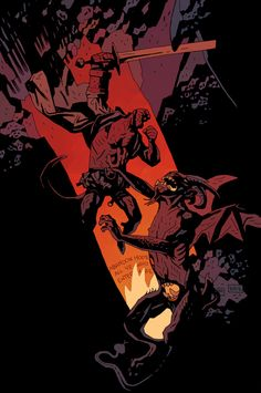 Hellboy In Hell 1 Variant