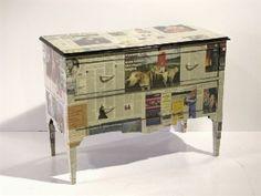 Decoupage su mobili restauro pinterest decoupage - Mobili con decoupage ...