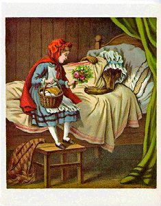 Illustrations - Conte du Petit Chaperon rouge