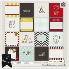 Simply Magical InstaLife Cards