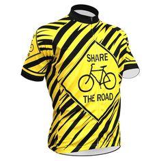 Men s Share the Road Cycling Jersey Cycling Gear dd5c0b10e