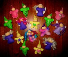 time 4 craft at toadstool house: term 4 2010 Affirmation dolls