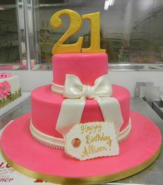 Happy 21st! Cheers!