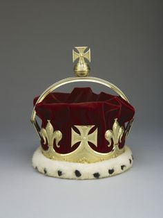 The Prince of Wales's Coronet was supplied to George, Prince of Wales (later George V) in 1901 by the Crown Jewellers, Garrard & Co. Silver gilt, silver, velvet and ermine. | Royal Collection Trust