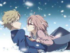 Kyoukai no Kanata ~ Actually so cute.