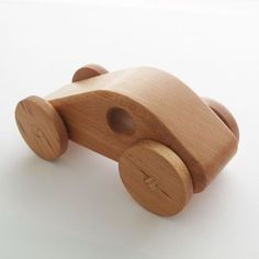 Wooden Toy Racing Car | GiftWrappedandGorgeous.co.uk A gorgeous wooden toy racing car that is the perfect gift for little racing car fans. This beautiful wooden toy is handmade from responsibly sourced Beech wood. Finished with a toy safe Danish Oil, giving a durable yet very attractive finish. £14.99