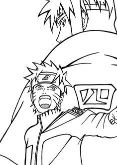 Tsunade Pose | Naruto Coloring Pages | Pinterest
