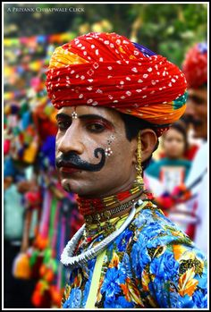 People of India   Colourful People Of India... Photo from Incredible India