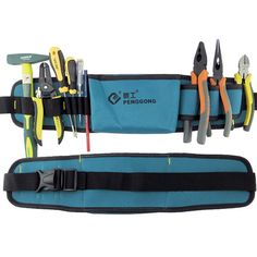 Multifunctional Tool Bag Electrician Waterproof Oxford Tools Kit Pockets with Waist Belt