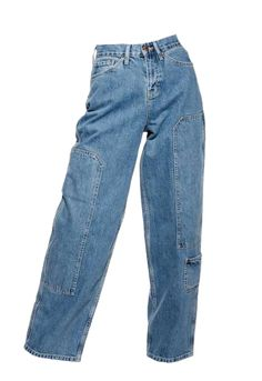 jeans **Cargo Baggy Jeans by Boutique - Swaggy Outfits, Casual Outfits, Fashion Outfits, Gothic Fashion, Jeans Fashion, Casual Jeans, Grunge Outfits, Woman Fashion, Jean Outfits